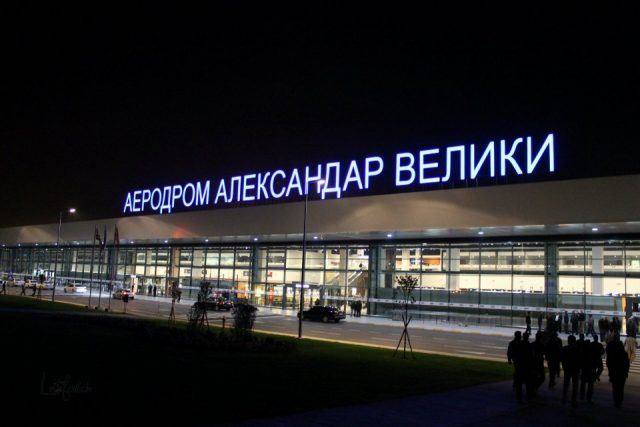 Унгарец уапсен на скопскиот аеродром