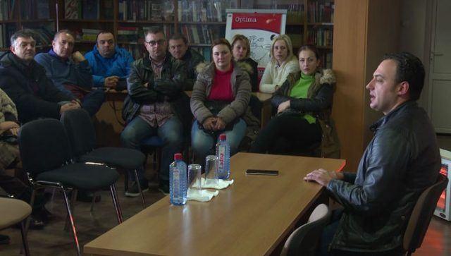 Ристовски: Поддршката на просветните работници ќе продолжи со конкретни мерки, а не со празни ветувања