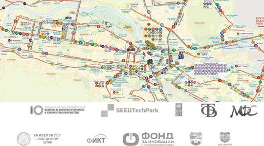 """Избор на најдобрите на """"Скопски автобуски хакатон"""" и """"Паметна автобуска постојка"""""""