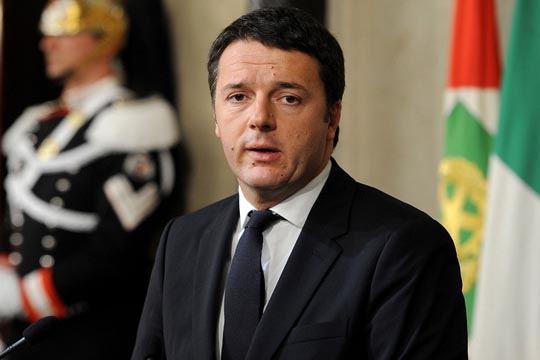 Matteo Renzi press conference, Rome