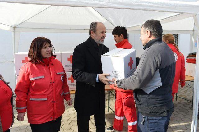 Трајановски го посети Пунктот за бездомни лица во Момин Поток