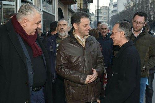 ФОТО: Пишев и Манчев заедно со Ставрески меѓу народот во Струмица