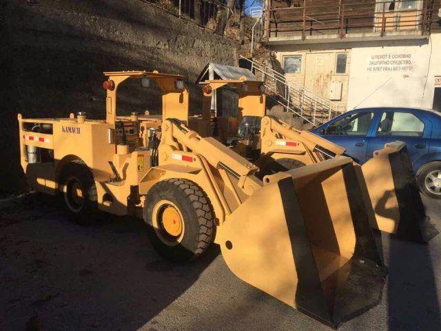 Новата опрема пристигнува во рудникот Злетово