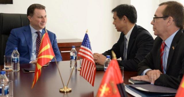 Груевски се сретна со амбасадорите Жбогар, Бејли и Бјорнстад