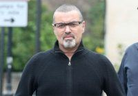 Exclusive... George Michael Goes To Lunch With Friends