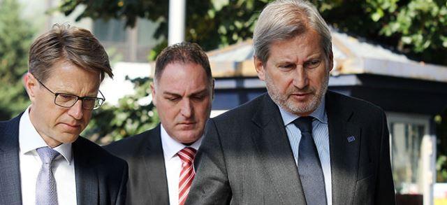 Хан и тројката европратеници денеска во Македонија
