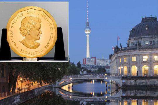Берлин: Украден вториот по големина златник во светот