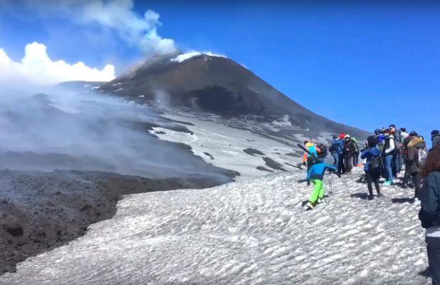 Вулкан Етна Италија