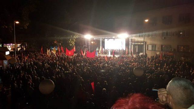 ФОТО: Голема поддршка за Чадиев во Велес
