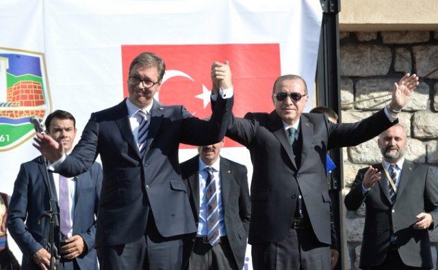 Ердоган порача дека ја посакува Србија како пријател и земја на напредок, единство и слога