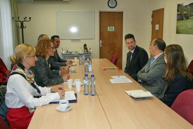 Посета на министерката Шекеринска на НАТО штабот во Брисел