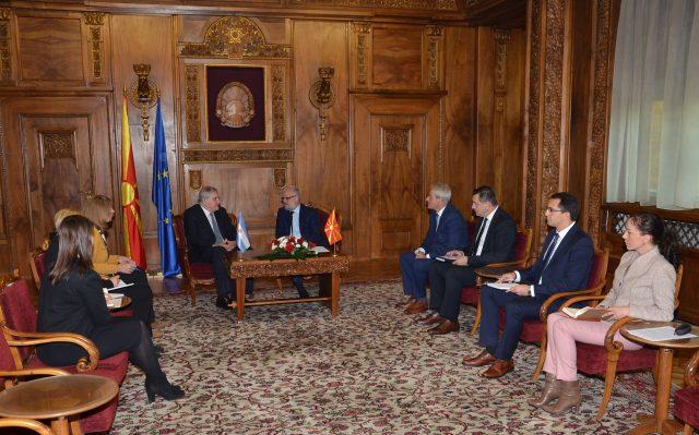 Џафери-Труеба: Развивањето на парламентарната соработка отвора пат и за соработка меѓу други институции
