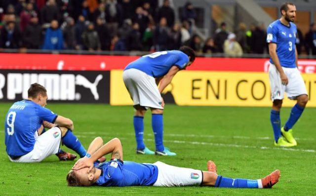 Шведска ја елиминираше Италија која по 58 години нема да настапи на мундијал