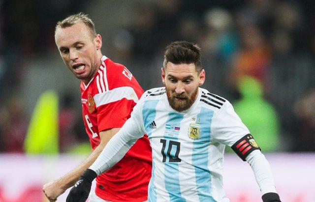 Аргентина подобра за гол од Русија