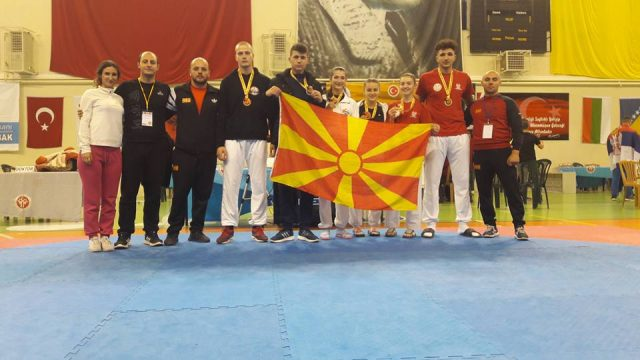 Шест освоени медали на првиот ден од Балканското првенство