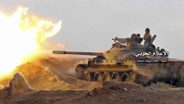 Сириската армија гo зазема последното упориште на ИД во земјата