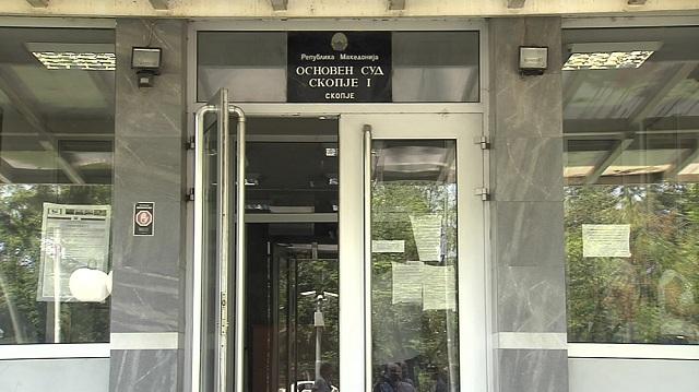 Груевски  Пешевски и Јанакиески во судница за провизиите за кинеските патишта