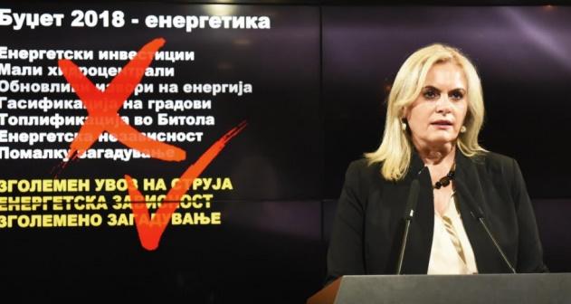 Затуроска: СДС нема стратегија и концепт за развој на енергетиката