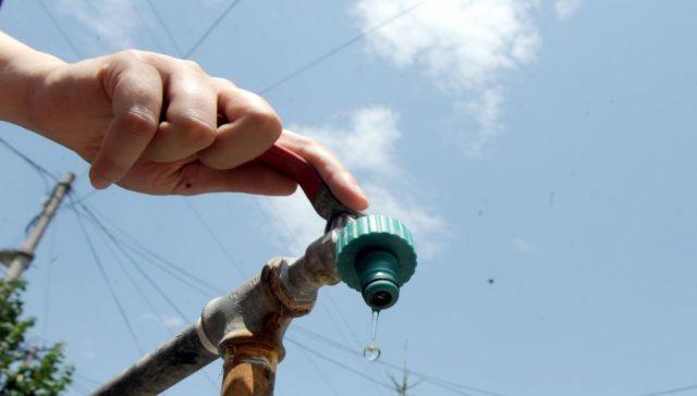 Делови од Чаир, Гази Баба и Бутел утре без вода