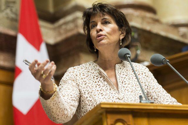 Швајцарската претседателка сака референдум за односите со ЕУ