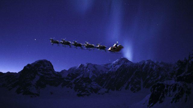 Санката на Дедо Мраз ја влечат женки