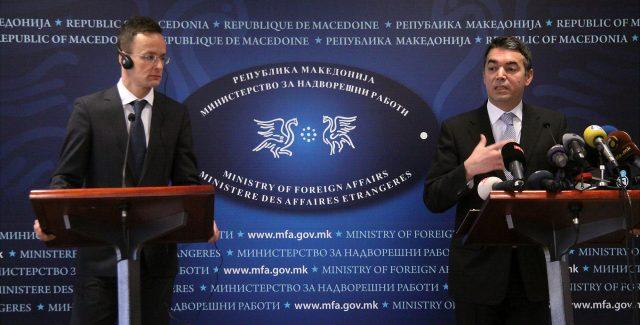 Сијарто: Унгарија останува силен поддржувач на Македонија на патот кон ЕУ и НАТО