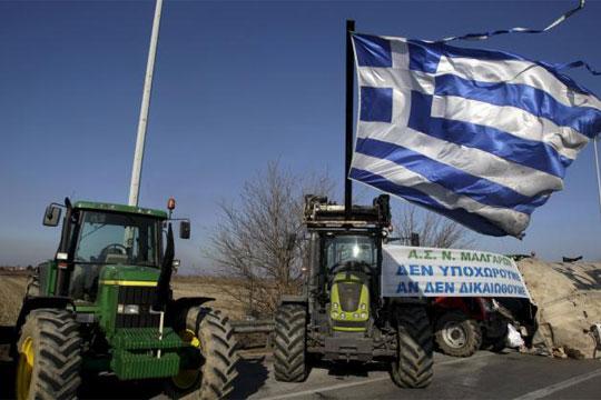 Грчките земјоделци ќе ги зајакнат протестите кон крајот од јануари