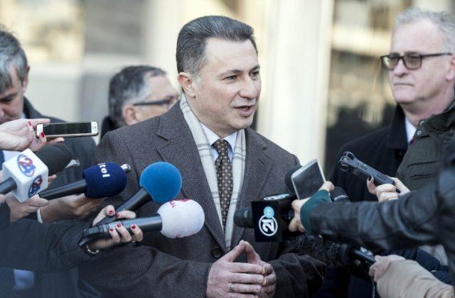 Груевски: Режим е кога се одредува притвор за пратеничка зашто се гушнала со сопругот кога влегол во Собрание