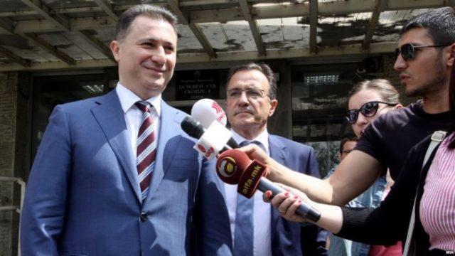 Груевски: Судењето e апсурдно, сведоци се политички противници