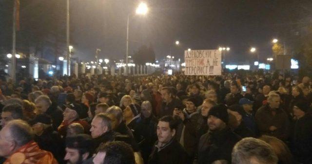 Груевски: Во Македонија се казнува слободната мисла, а на љубовта кон татковината се гледа како грев за кој се оди затвор