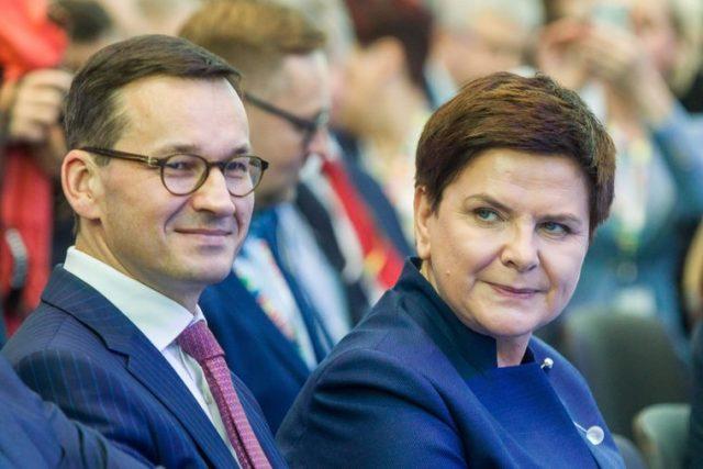Полскиот министер за финансии Моравјецки премиер наместо Шидло