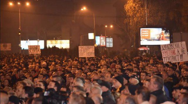 ВМРО ДПМНЕ  Македонија е единствена држава во демократска Европа каде се апсат луѓе поради искажани политички ставови