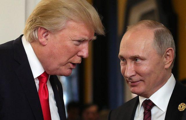 Путин му се заблагодарил на Трамп на американската помош за спречување напад во Русија
