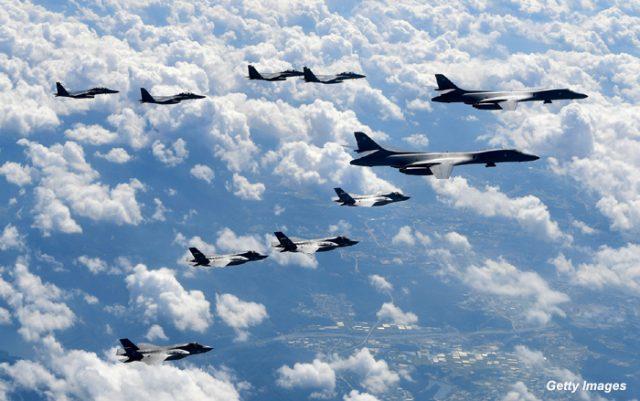 Време е да се бомбардира Северна Кореја