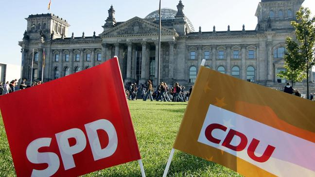 Германските конзервативци и социјалдемократи се договорија за коалициски преговори