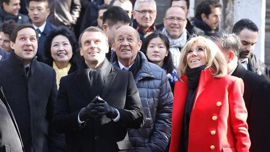 """Макрон сака сојуз на Франција, Европа и Кина за """"иднината на светот"""""""