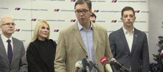 Вучиќ: Нема предвремни парламентарни избори во Србија