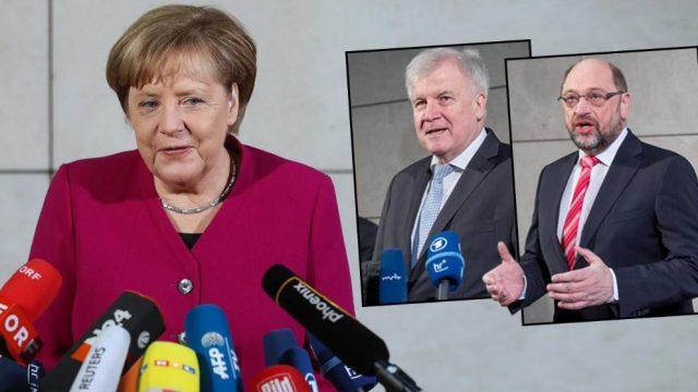 Челниците на германските партии со оптимизам ги започнаа преговорите за коалиција