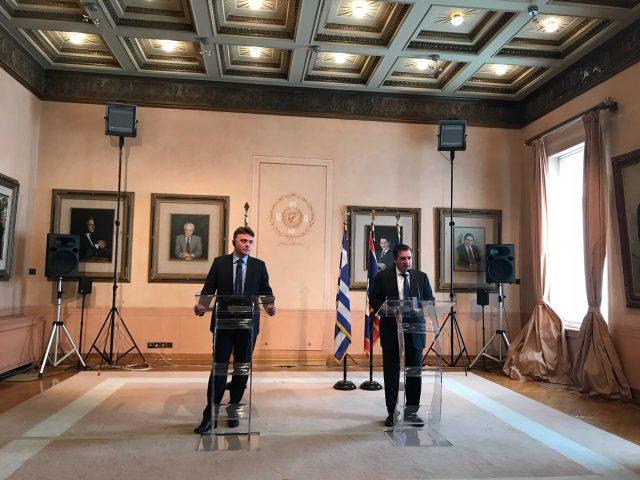 Шилегов во Атина: Имаме силна волја да го зацврстиме пријателството