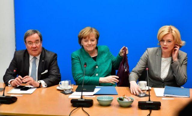 Меркел ги објави идните министри од нејзините конзервативци