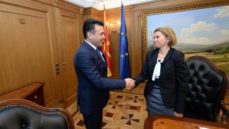 Заев најави укинување на визите помеѓу Македонија и Украина