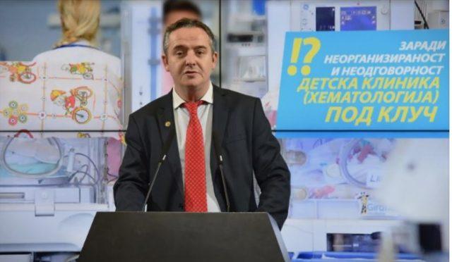 Николов: Кулминираше неодговроноста на власта во здравството