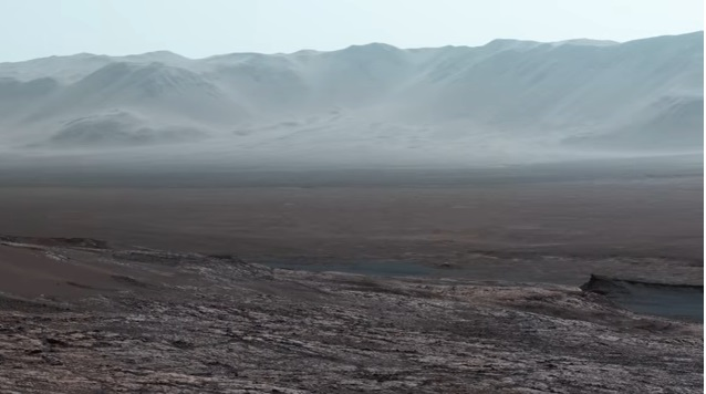 Објавена панорамска снимка на Марс