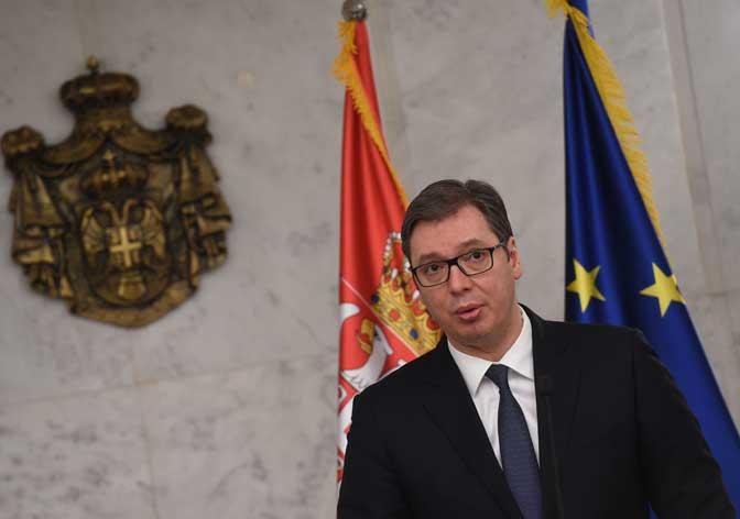 Вучиќ повторно ја изрази подготвеноста на Србија на компромис со Косово