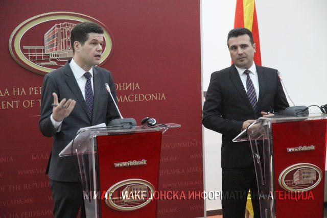 Мичел  САД не можат да ја донеста одлуката за Македонија и Грција  самите меѓусебно може да најдат решение