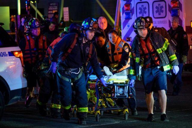 (Видео) Хеликоптер се сруши во река, петмина загинати