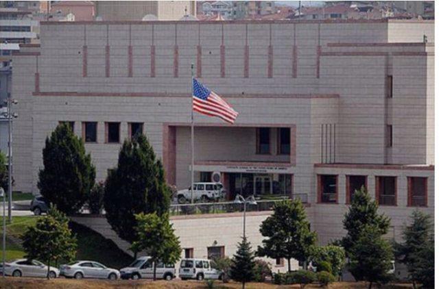 Амбасадата на САД во Анкара во понеделникот затворена поради безбедност