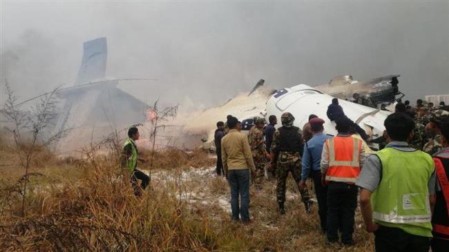 Се урна патнички авион на аеродромот во Катманду