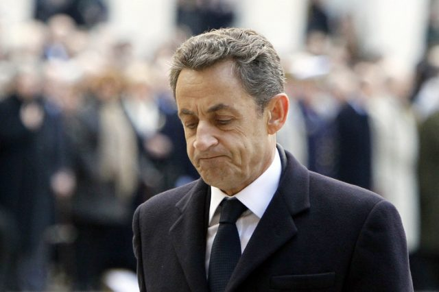 Притворен поранешниот француски претседател Саркози