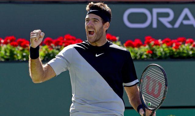 Дел Потро го победи Федерер во финалето на Индијан Велс